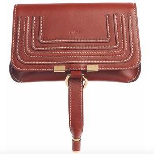 New Chloé Marcie Convertible Belt Bag in Brown